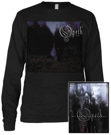 Long Sleeve:  Opeth- My Arms (Front/Back)