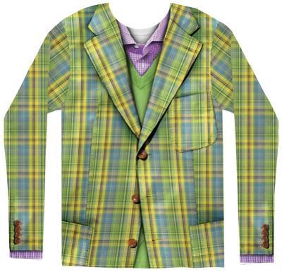 Long Sleeve: Plaid Suit
