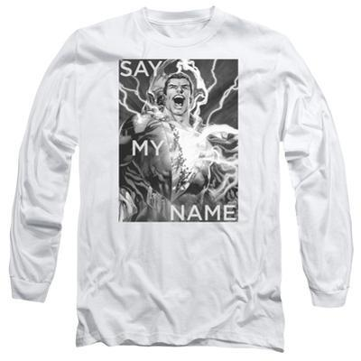 Long Sleeve: Shazam- Say My Name