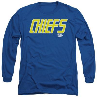 Long Sleeve: Slap Shot - Chiefs Logo