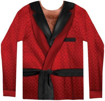 Long Sleeve: Smoking Jacket Costume Tee