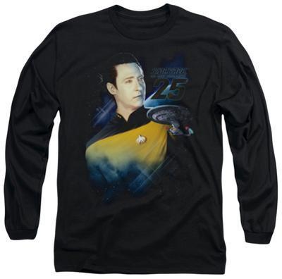 Long Sleeve: Star Trek - Data 25th