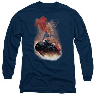 Long Sleeve: Supergirl- Cosmic Contemplation