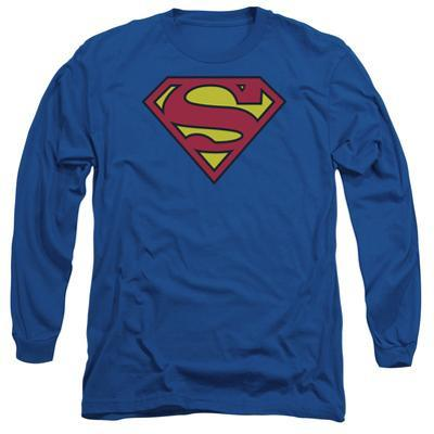 Long Sleeve: Superman- Classic Logo