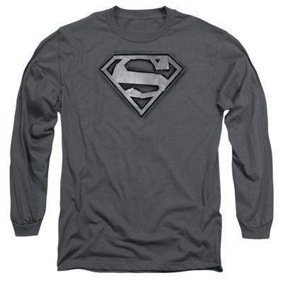 Long Sleeve: Superman- Duct Tape Shield