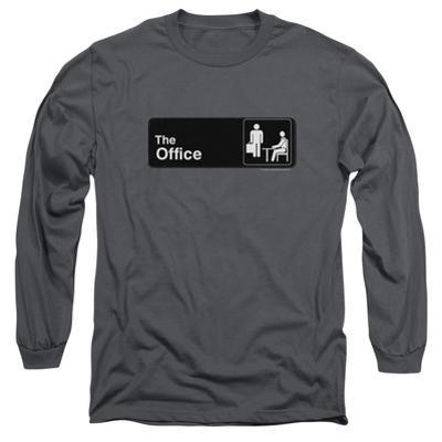Long Sleeve: The Office - Sign Logo