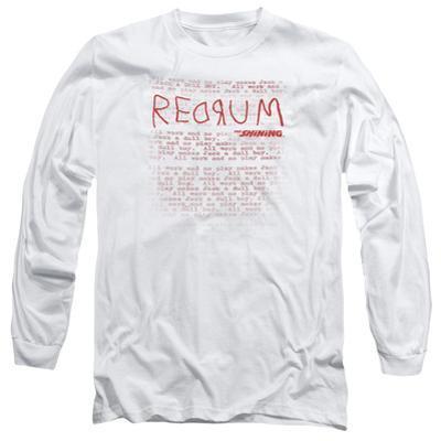 Long Sleeve: The Shining/Redrum Scrawl