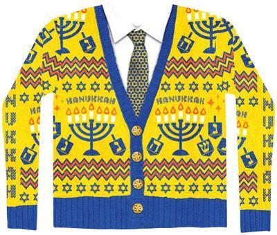 Long Sleeve: Ugly Hanukkah Sweater Costume Tee