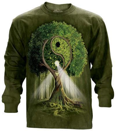 Long Sleeve: Ying Yang Tree