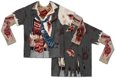 Long Sleeve: Zombie with Mesh Sleeves