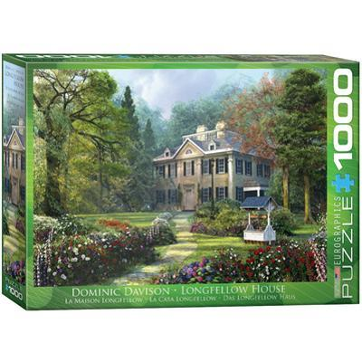 Longfellow House by Dominic Davison 1000 Piece Puzzle