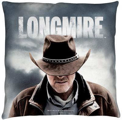 Longmire - Sheriff Throw Pillow