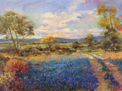 Blue Fields by Longo