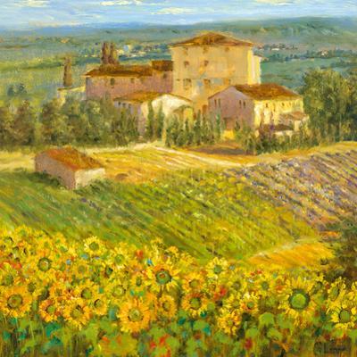 Provencal Village III by Longo