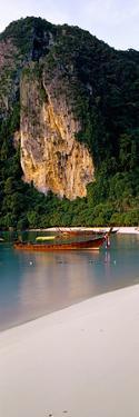 Longtail Boat in Ton Sai Bay, Phi Phi Don, Thailand