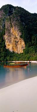 Longtail Boat in Ton Sai Bay, Phi Phi Don, Thailand
