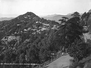 Longwood Hotel, Elysium Hill, Shimla Hill Range, India, Early 20th Century