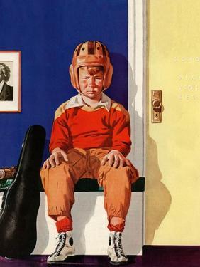 """""""Musical Sport,"""" November 14, 1942 by Lonie Bee"""