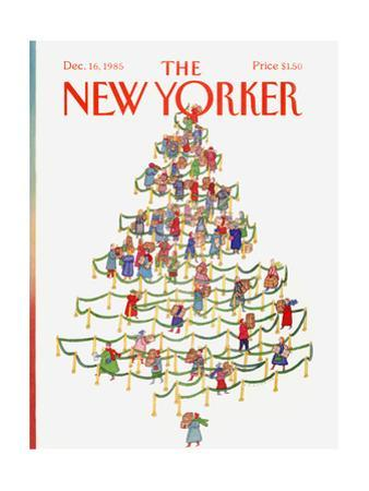 The New Yorker Cover - December 16, 1985