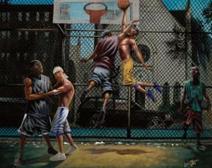 In Midair by Lonnie Ollivierre