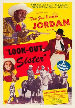 LOOK OUT SISTER, Suzette Harbin, Louis Jordan, 1947