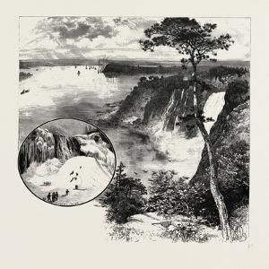 Looking Towards Quebec, from Montmorency, Canada, Nineteenth Century