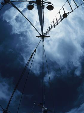 Looking up at Mast on a Boat
