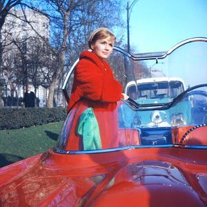 Debbie Reynolds in a Lincoln Futura Car in a Scene of 'It Started with a Kiss', 1959 by Loomis Dean