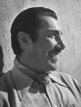 "Emilio ""Indio"" Fernandez Smiling by Loomis Dean"
