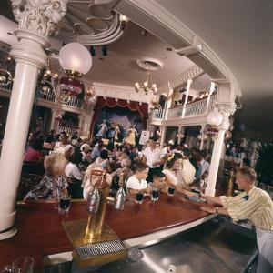 July 17 1955: Children's Saloon, the Golden Horseshoe Soft Drink Concessionaire, Disneyland, Ca by Loomis Dean