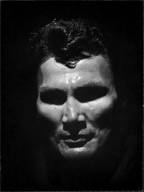 Portrait of Actor Jack Palance Looking Like a Jack O' Lantern by Loomis Dean