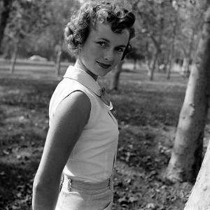 Portrait of American Actress Debbie Reynolds, 1950 by Loomis Dean