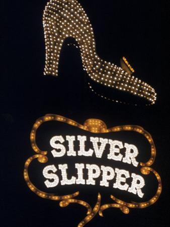 Silver Slipper Sign in Las Vegas by Loomis Dean