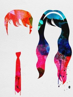 500 Days Watercolor by Lora Feldman