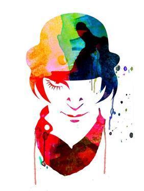 Alex Watercolor by Lora Feldman