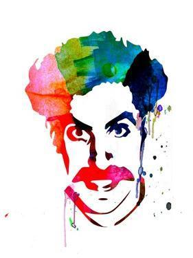 Borat Watercolor by Lora Feldman