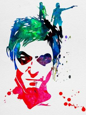 Daryl Watercolor 2 by Lora Feldman