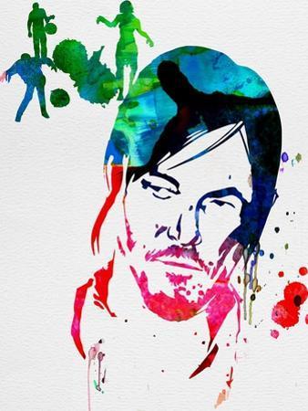 Daryl Watercolor by Lora Feldman