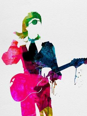 David Watercolor by Lora Feldman