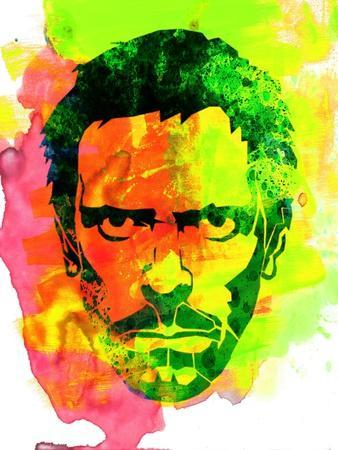 Dr. Gregory House Watercolor