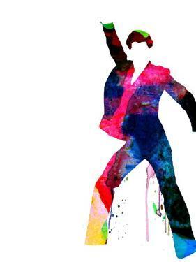 Fever Watercolor by Lora Feldman