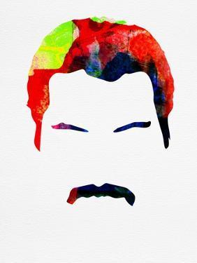Freddie Watercolor by Lora Feldman