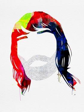 Ian Watercolor by Lora Feldman