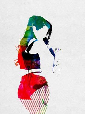 Iggy Watercolor by Lora Feldman
