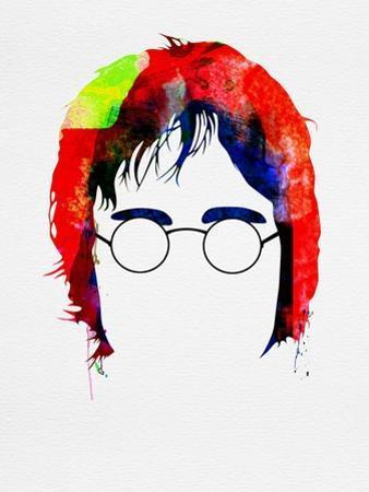 John Watercolor by Lora Feldman