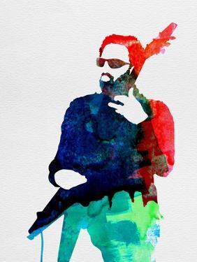 Lenny Watercolor by Lora Feldman