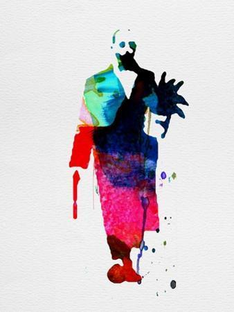 Leon Watercolor by Lora Feldman