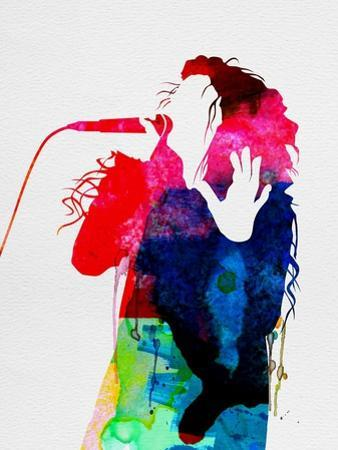 Lorde Watercolor by Lora Feldman