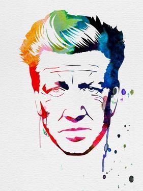 Lynch Watercolor by Lora Feldman
