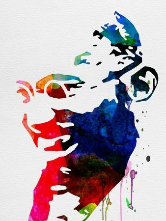 Mahatma Gandhi Watercolor